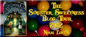 The Sinister Sweetness Blog Tour, 2012.