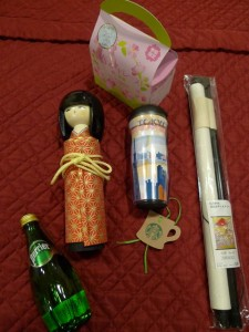 Lovely presents from YWES! (And a doll from all 3 schools - more on that next post!)