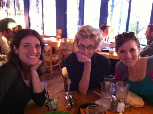 Anne Ursu, Katherine Catmull, and Claire Legrand. A smorgasbord of talent!