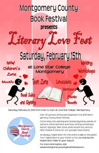 The MoCo Book Festival, aka The Sweetest Valentine Party in Texas!