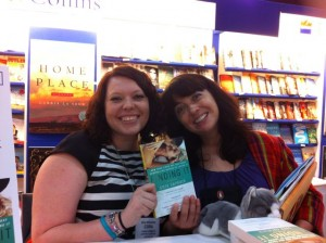 Fun! I got to meet an agent-sister, Cora Carmack, who writes the spiciness. :)