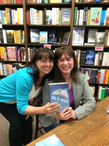 I love Joy Preble and her books so much! Check out her latest, The A-Word, from Soho Press.