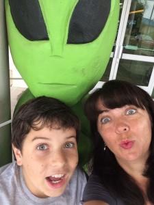 alien and drew