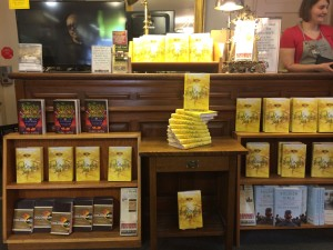 Look at all those books at the Boulder Bookstore! Very Fancy Indeed.