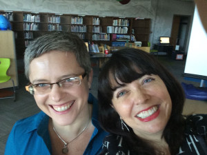 The requisite selfie taken with Paige Britt, Debut Author Extraordinaire!