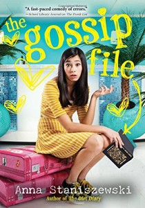 The Gossip File - Anna Staniszewski