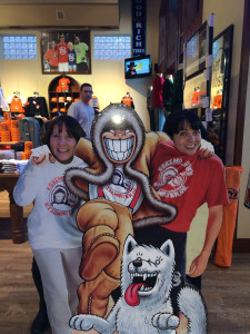 Silliness at Eskimo Joe's with Susie Masters...