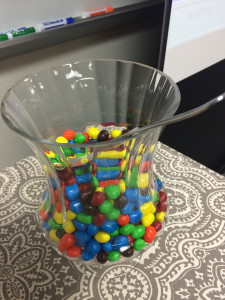 Speaking of favorite foods, did oyu know if you joke to an Oklahoma librarin that you need 2 lbs of peanut M&Ms to be able to go on... they appear???