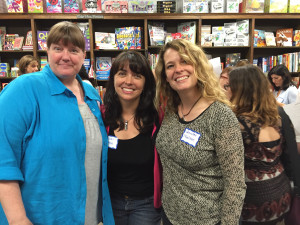 Ingrid Law, me, and Jennifer Nielsen.