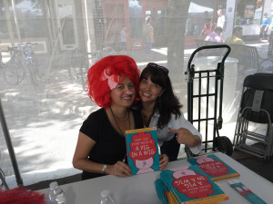Getting silly with Pig in a Wig author/illustrator Emma Virjan